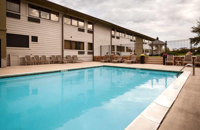 Outdoor pool at Best Western - Benton Harbor.