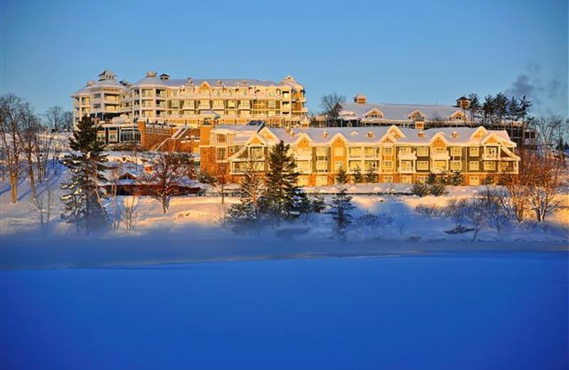 Exterior view of JW Marriott The Rosseau Muskoka Resort & Spa.