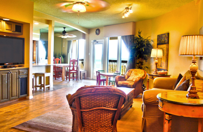 Suite Interior at Port Royal Ocean Resort