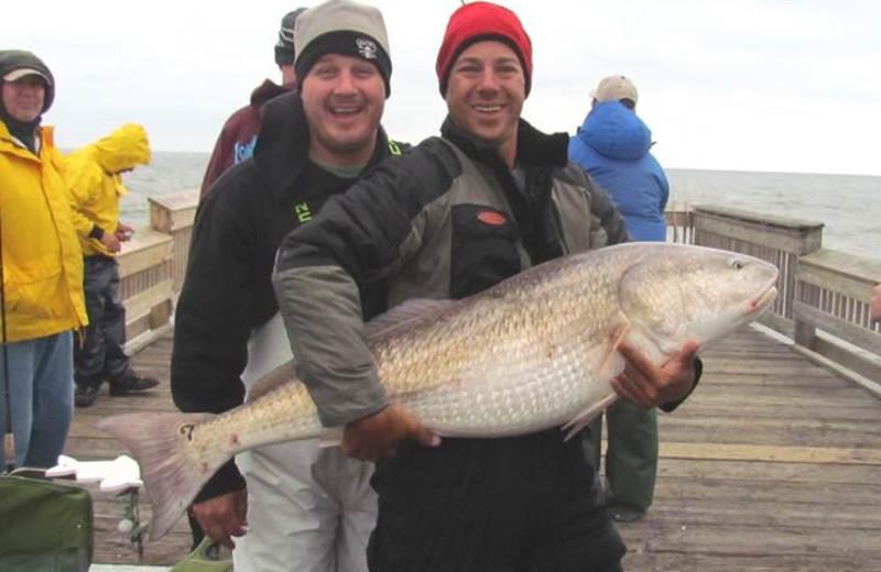 Fishing at Sandbridge Realty.