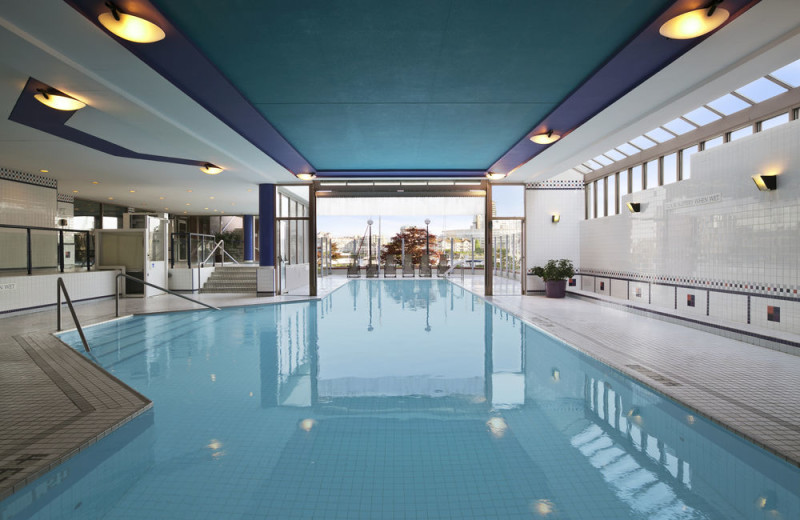 Pool at Coast Victoria Harbourside Hotel & Marina.