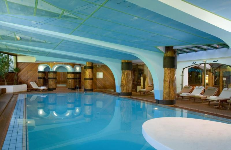 Indoor pool at Byblos des Neiges.