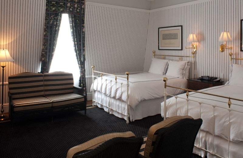 Guest room at The Tremont House