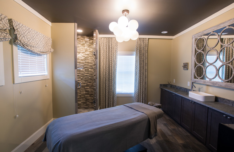 Spa room at The Inn at Willow Grove.