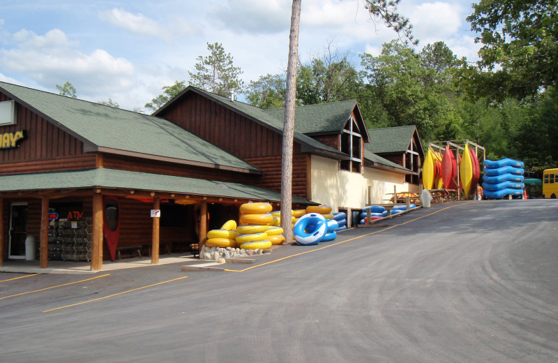 Exterior view of Big Bear Adventures.