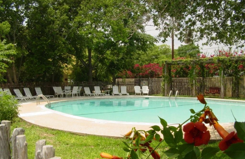 Outdoor pool at Meyer Bed & Breakfast.