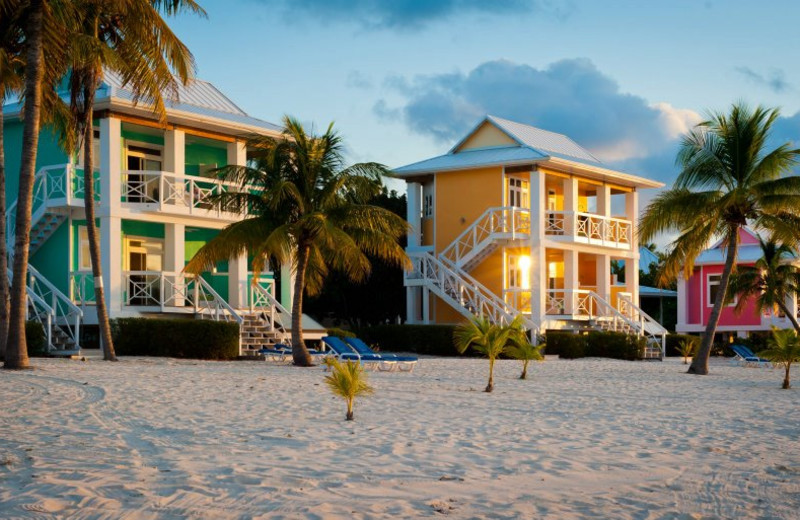 Exterior view of Southern Cross Club & Dive Resort.