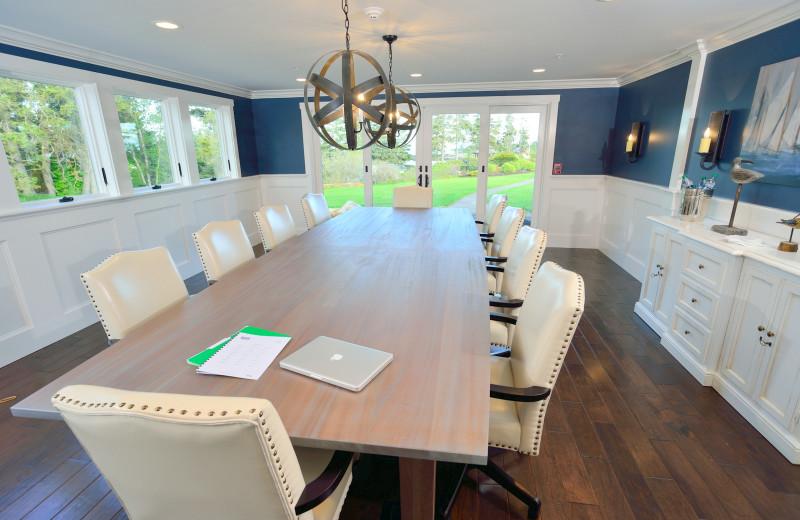 Meeting room at Newagen Seaside Inn.