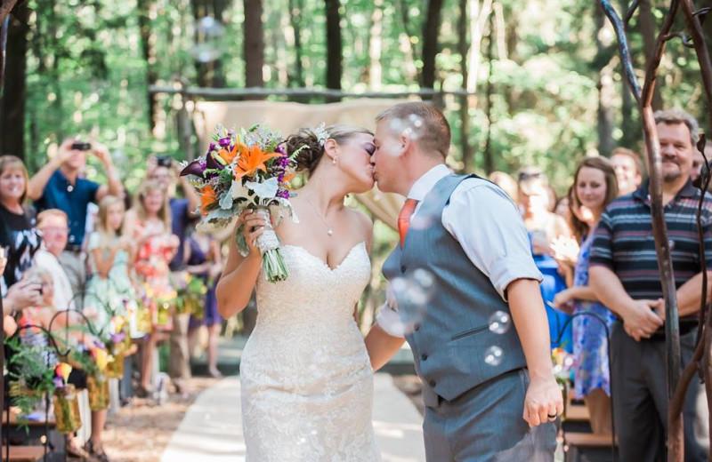 Wedding at Blue Moon Rising.