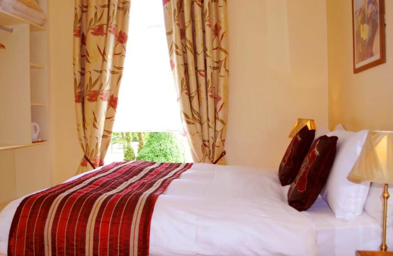 Guest room at Waterloo Lodge.