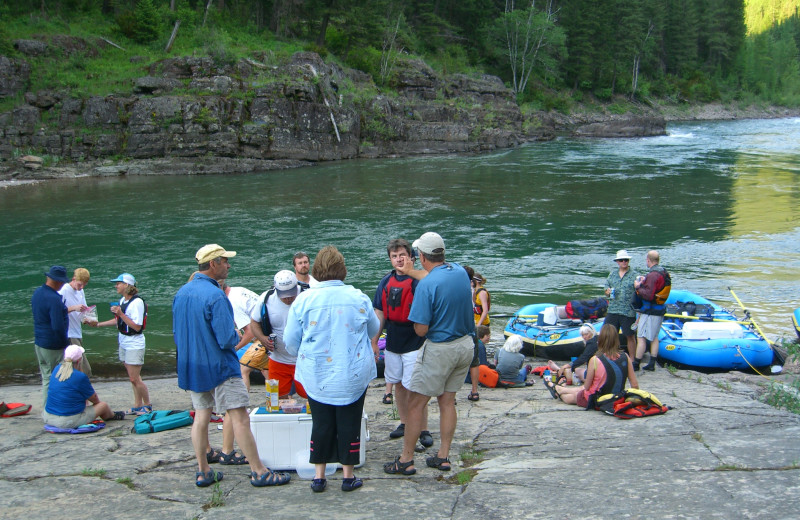 Rafting on the Middle Fork of the Flathead River