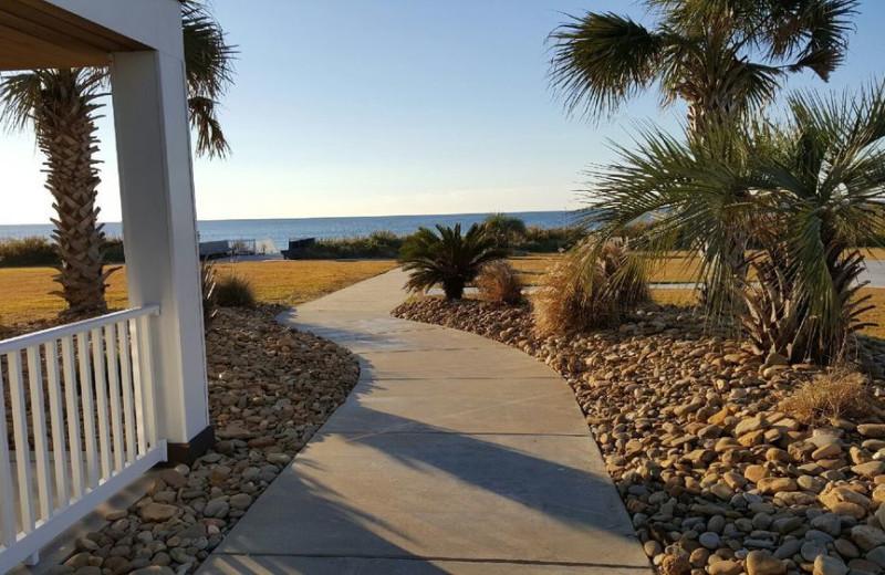 Path at Islander Hotel & Resort.