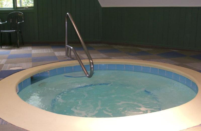 Hot tub at the Sugar Ski and Country Club.