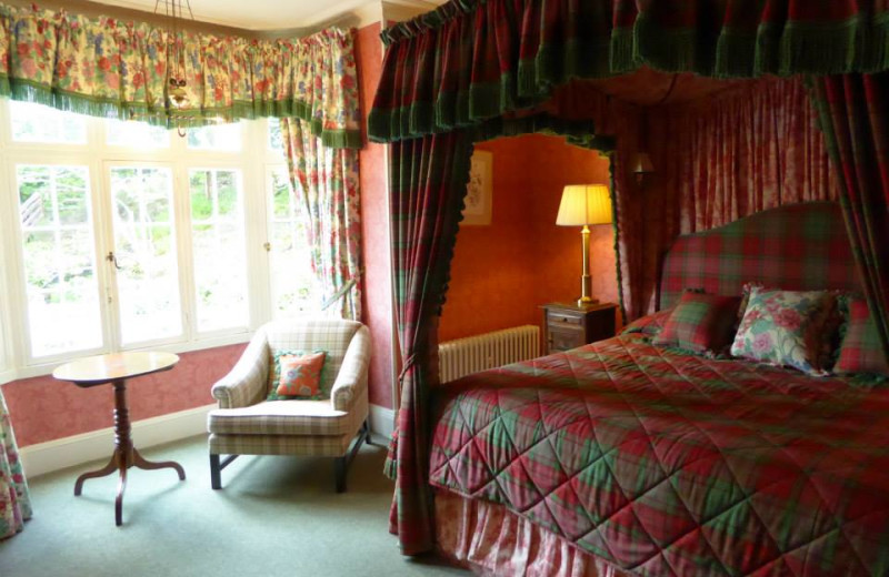 Guest room at Darroch Learg.