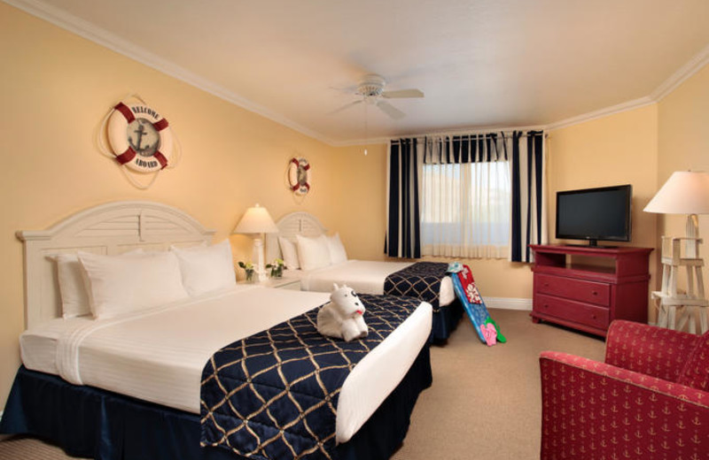 Two Queen Room at Pismo Lighthouse Suites