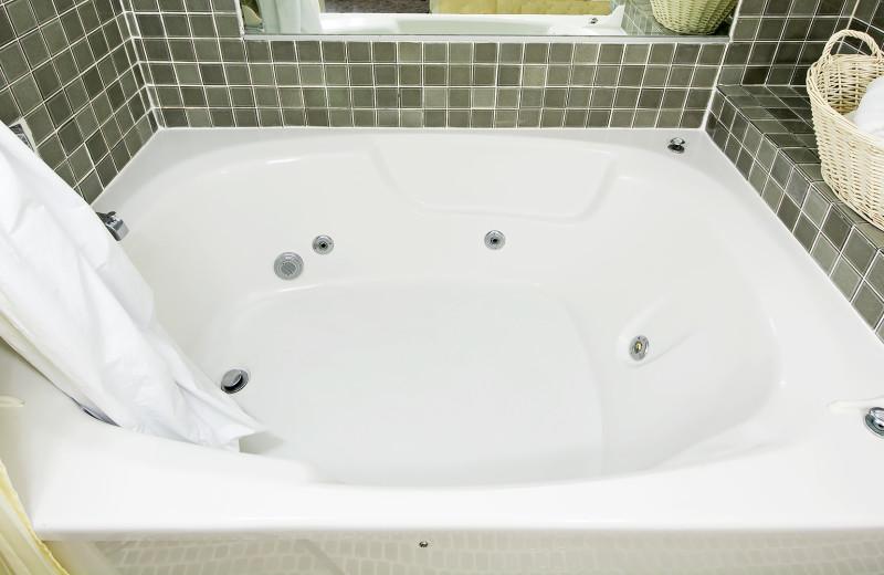 Guest bathroom at Four Sails Resort.