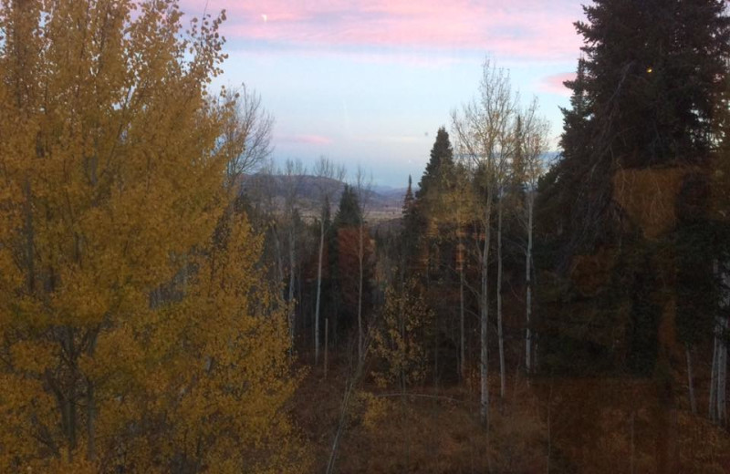 View from Aspen View Lodge.