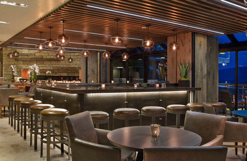 Dining and bar at The Westin Snowmass Resort.
