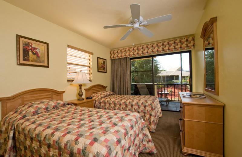 Two Queen Room at Park Shore Resort