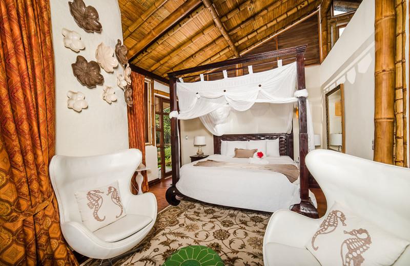 Guest room at Casa Ramon Vacation Home & Spa Resort.