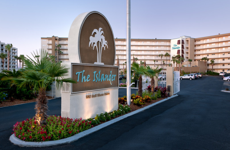 Exterior view of The Islander in Destin.