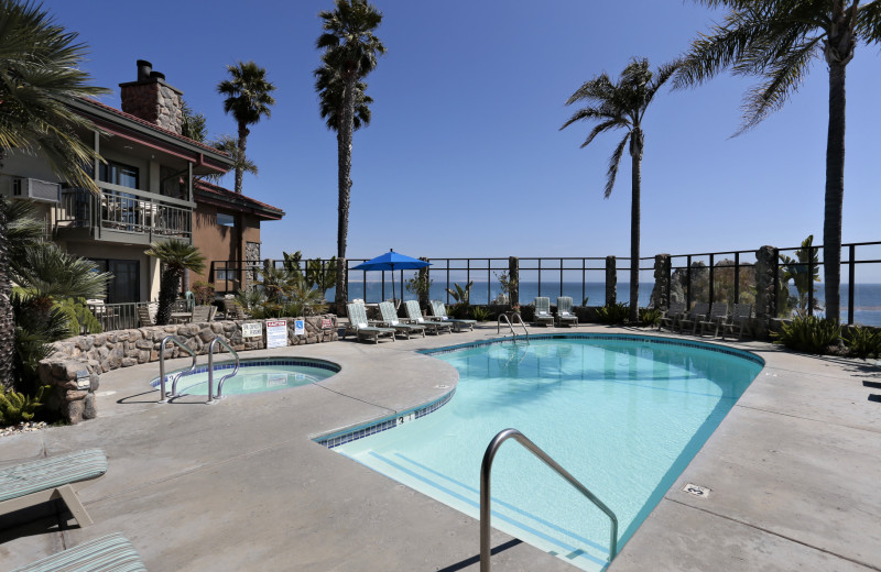 Unwind at the pool at Best Western Plus Shelter Cove Lodge