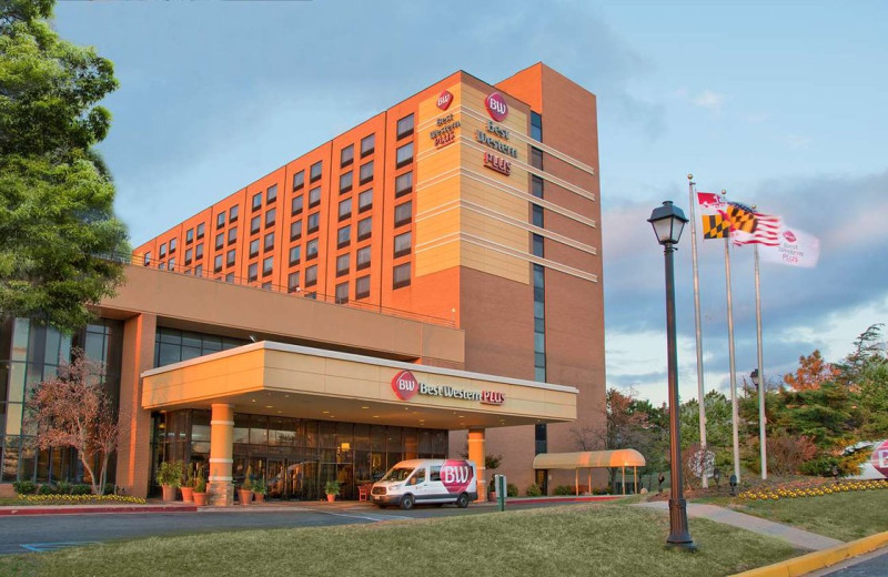 Exterior view of Best Western Plus Hotel