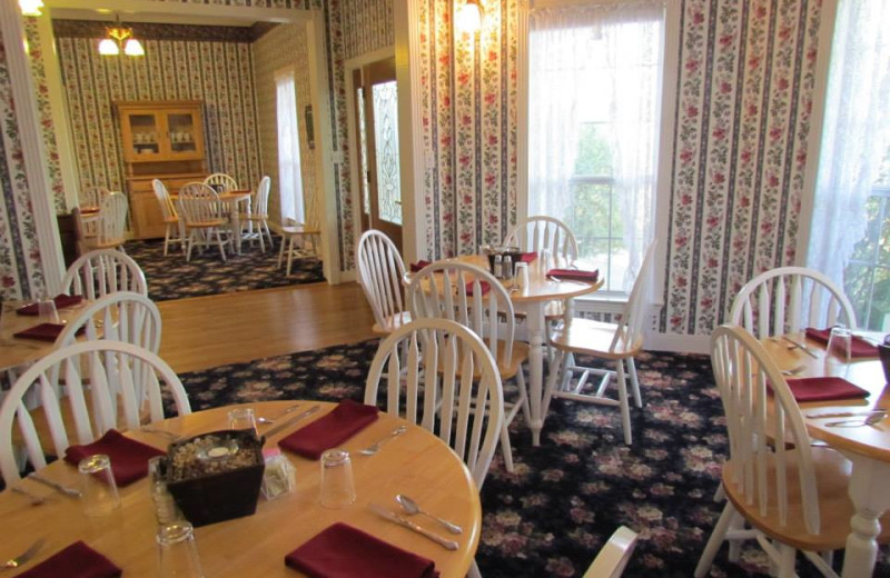 Dining area at Runnymede Country Inn.