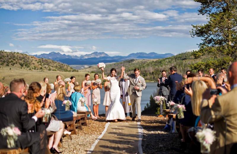 Weddings at C Lazy U Ranch.