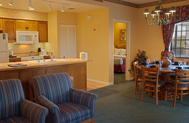 Guest suite at Legacy Golf Resort, The.