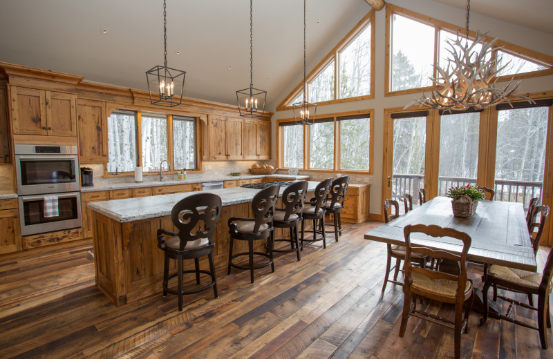 Alpine Getaways Kitchen