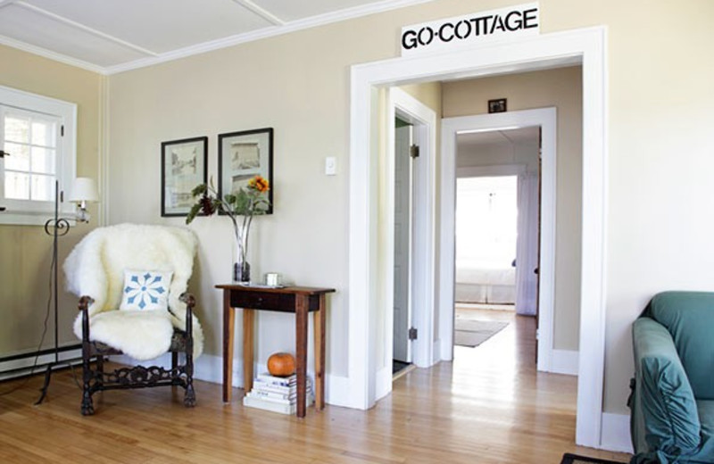 Cottage interior at GO-Cottage.