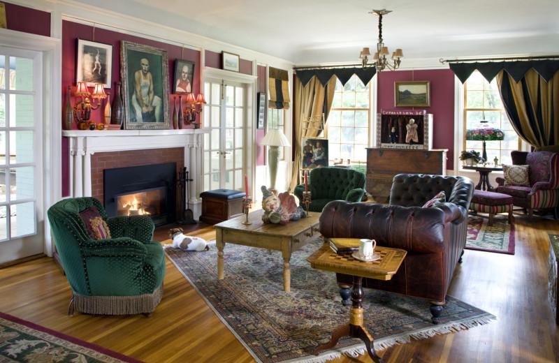 Living room at Juniper Hill B