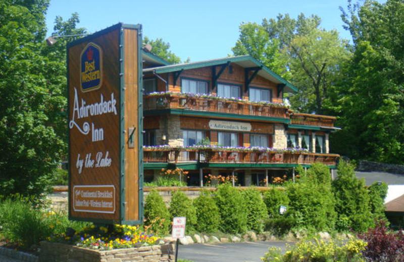 Exterior View Of Best Western Adirondack Inn