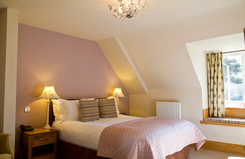 Guest room at Borrowdale Gates Country House Hotel.