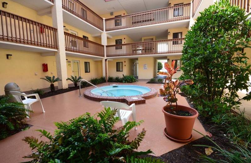 Hot tub at St. Augustine Ocean & Racquet Resort.