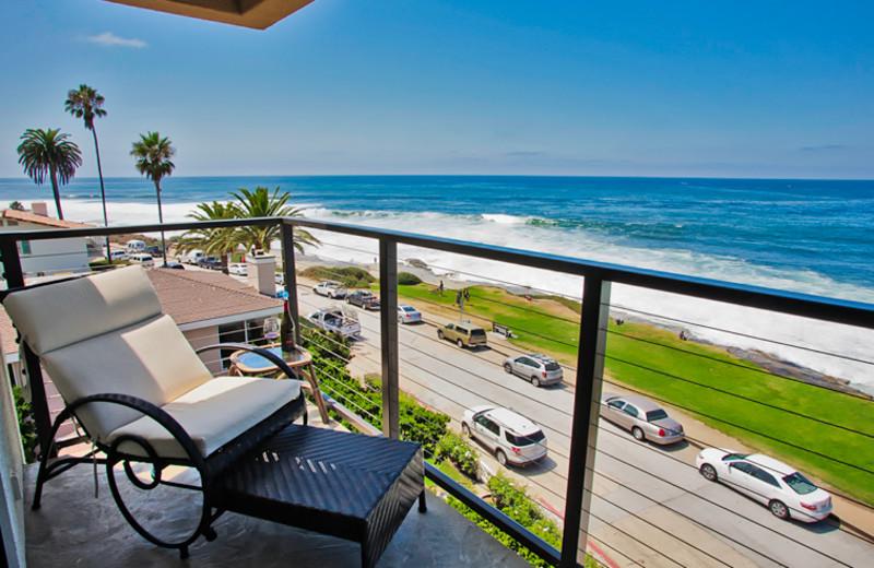 Balcony view at Seabreeze Vacation Rentals, LLC.