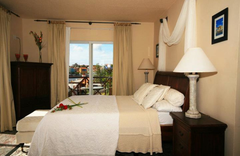 Guest Room at Plaza Hotel Curacao