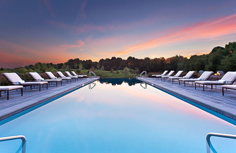 Outdoor pool at Salamander Resort & Spa.