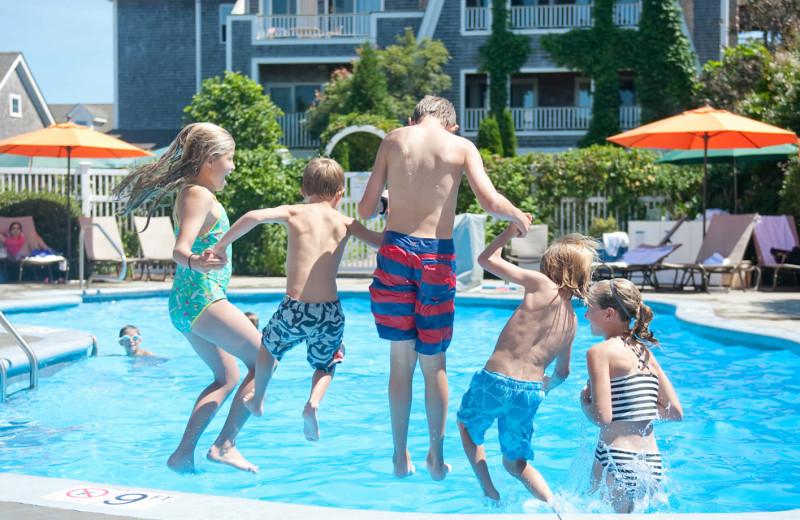 Outdoor pool at Winnetu Oceanside Resort.