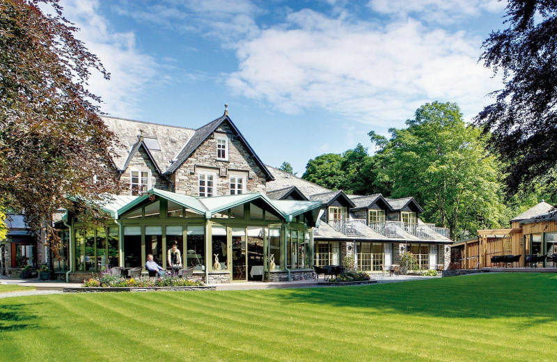 Exterior view of Rothay Garden Hotel.