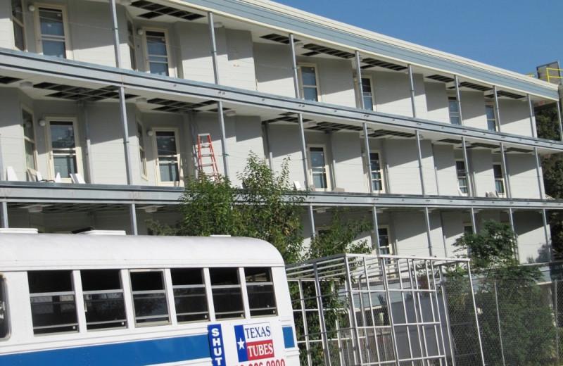 Exterior view of River Run Condominiums.