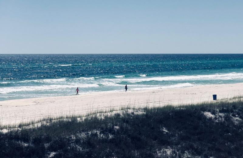 Beach at Sunnyside Resort Rental Company.