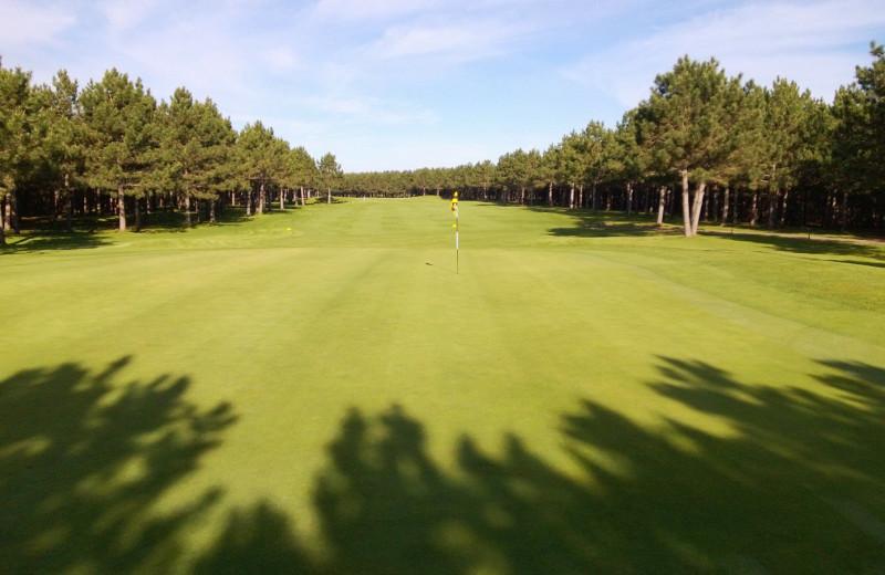 Golf near Cozy Cove Resort.