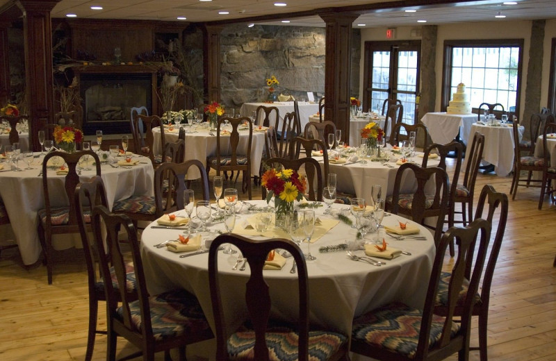 Dining at Stonecroft Country Inn.