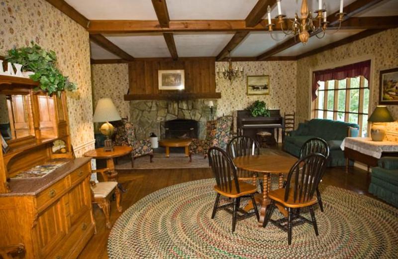 Interior view at Winter Clove Inn.