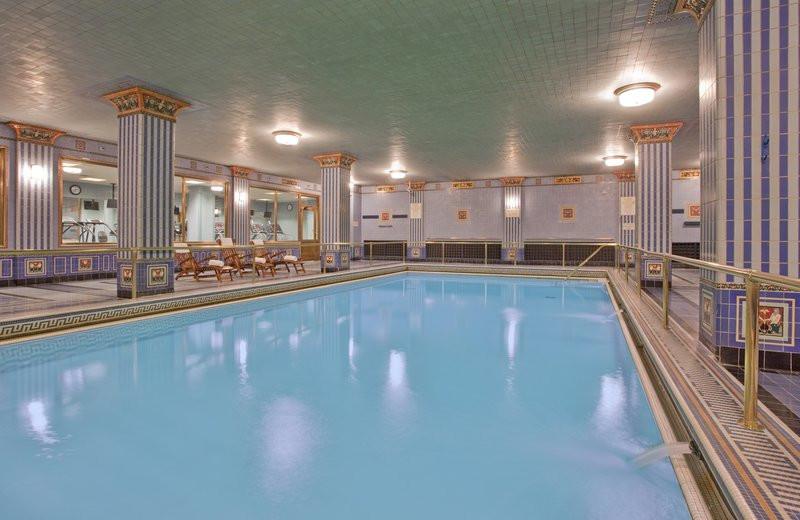 Indoor pool at Millennium Biltmore Hotel.