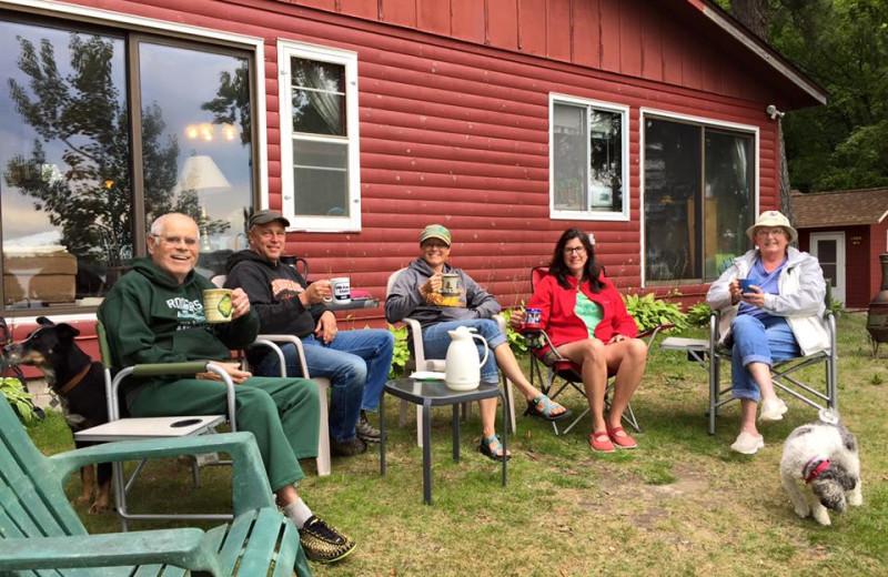 Family at Driftwood Resort.
