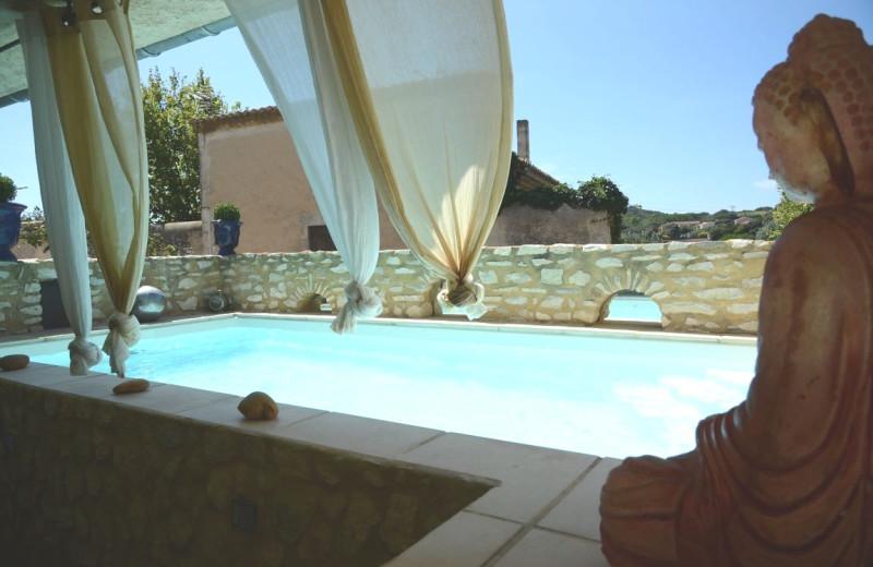 Outdoor pool at La Galinette.