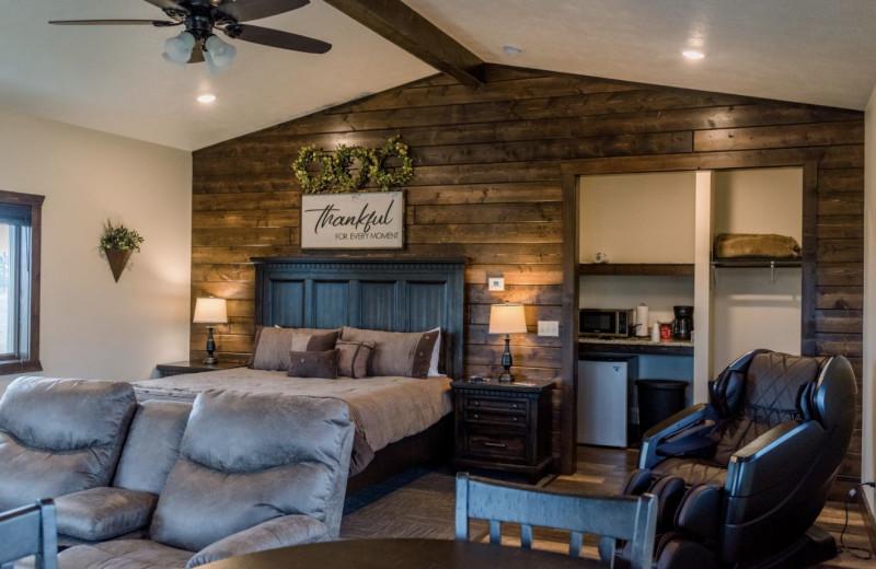 Villa interior at Granite Springs Lodge.